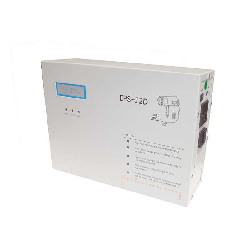 Household electric door, rolling gate backup power supply(EPS-12D)