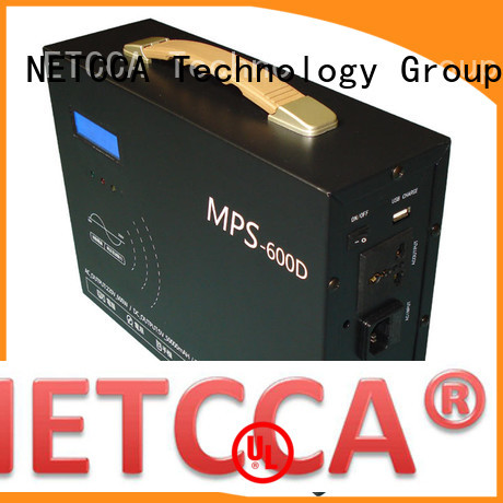 Quality NETCCA Brand portable battery power supply camping longtime