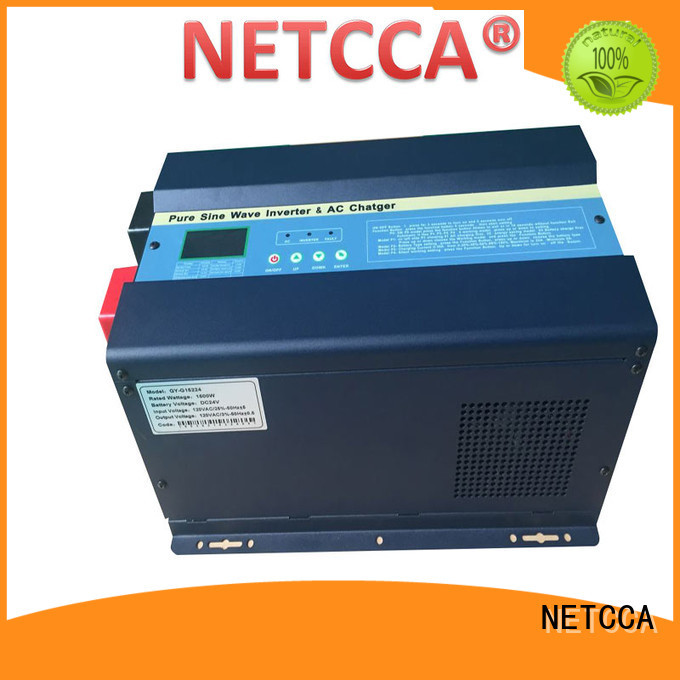 NETCCA low solar inverter charger manufacturers for home