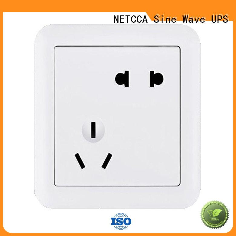 NETCCA five standard wall plug Supply for villa