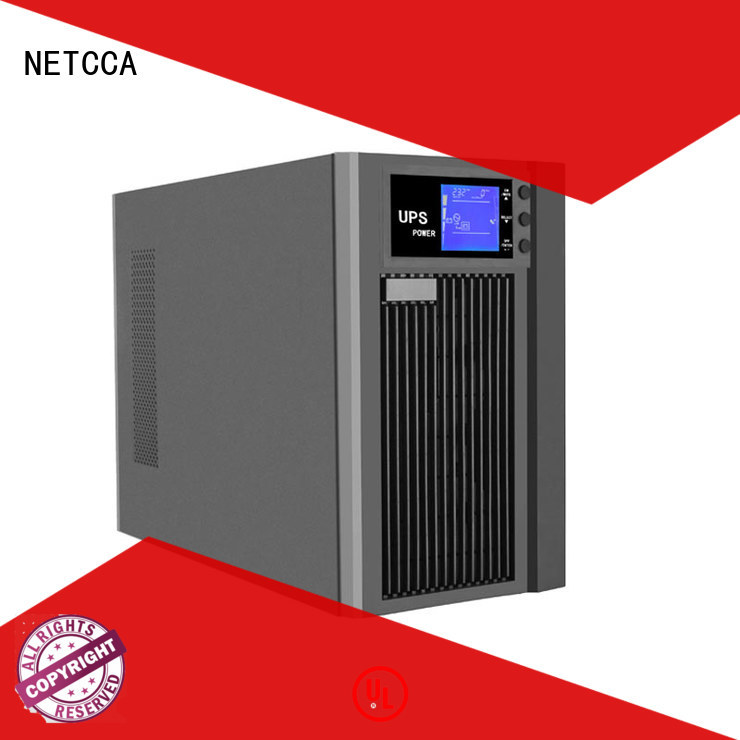 1 kva online ups phase inverter high frequency online ups NETCCA Brand
