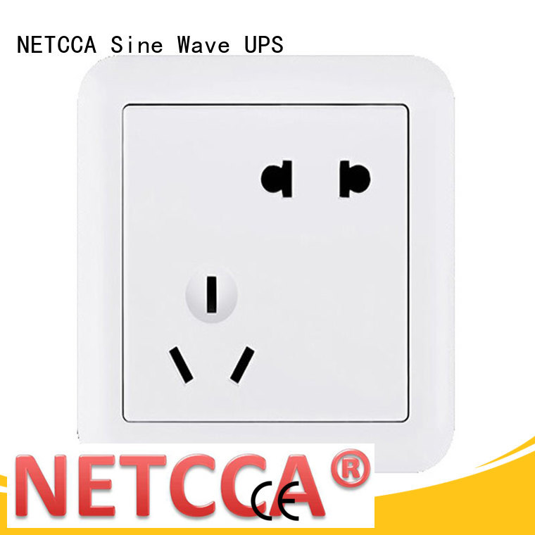 NETCCA five electrical wall plugs company for office