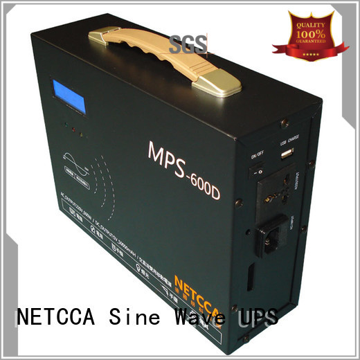 NETCCA high quality portable battery power power for solar road lamp