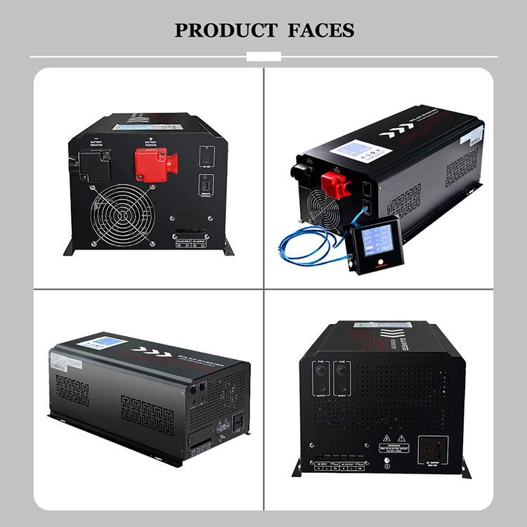 NETCCA-Off Grid Pure Sine Wave Inverter, Low Frequency Off-grid Pure Sine Wave