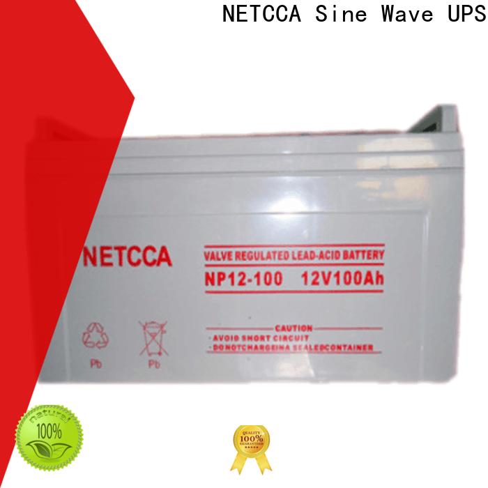 NETCCA Custom gel battery company for computer backup power