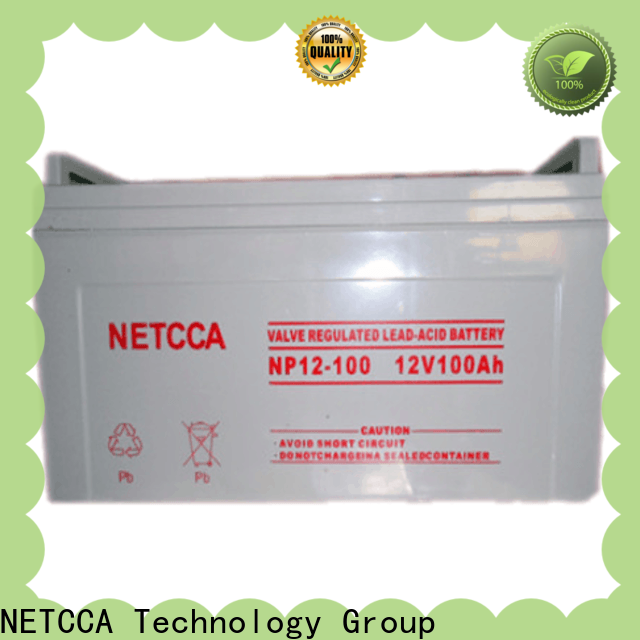 NETCCA Wholesale types of battery Supply for Emergency lighting system