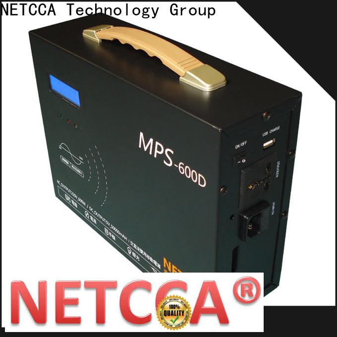 NETCCA portable portable 220v power supply factory for solar traffic light
