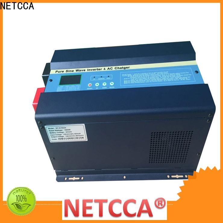 NETCCA power 48v solar inverter manufacturers for indoor