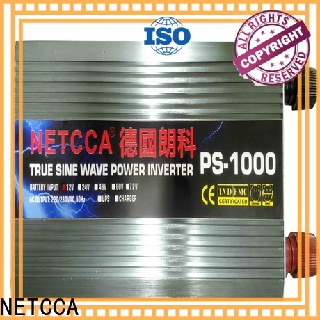 NETCCA Top 100w pure sine wave inverter company for solar power