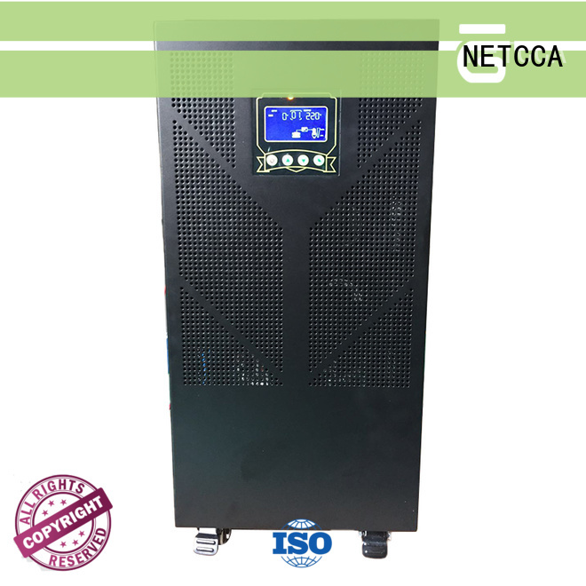 smart low frequency pure sine wave power inverter manufacturer for public security NETCCA