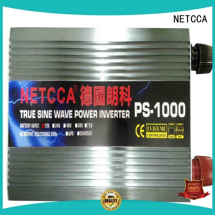 NETCCA pure pure sine wave inverter efficiency Supply for solar power