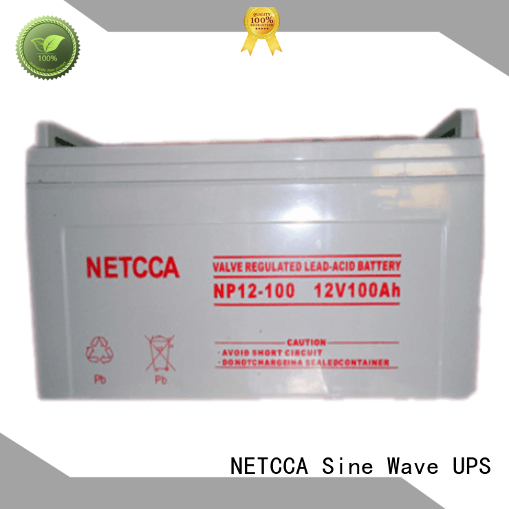 NETCCA leadacid sealed deep cycle battery for business for solar power system for wind power system