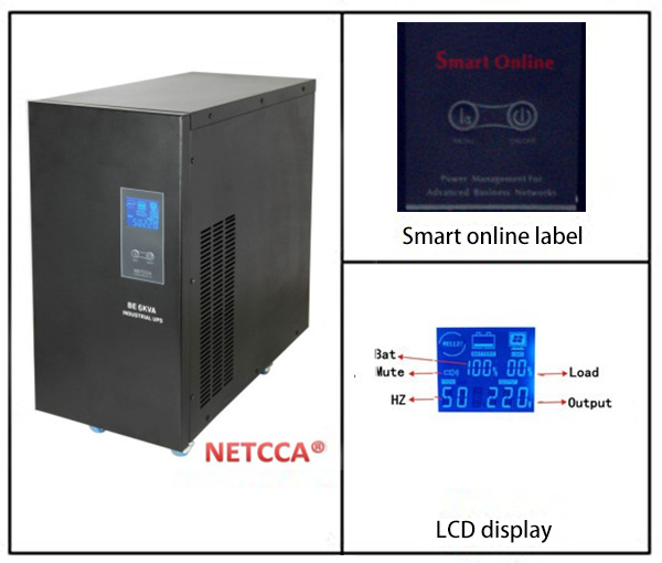 NETCCA-Find UPS Power Supply UPS Price from Netcca Sine Wave UPS-1