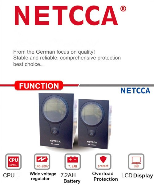 NETCCA-Find Pure Lithium Battery UPS Sinewave Inverter Single Phase UPS-3