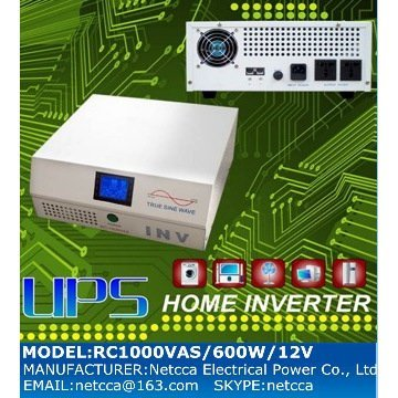 Home inverter UPS smart online  manufacturer Netcca 600W