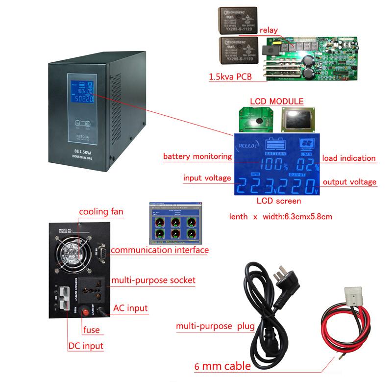 NETCCA-Find UPS Long Time for Telecom Bank Netcca Smart Online Inventer-7