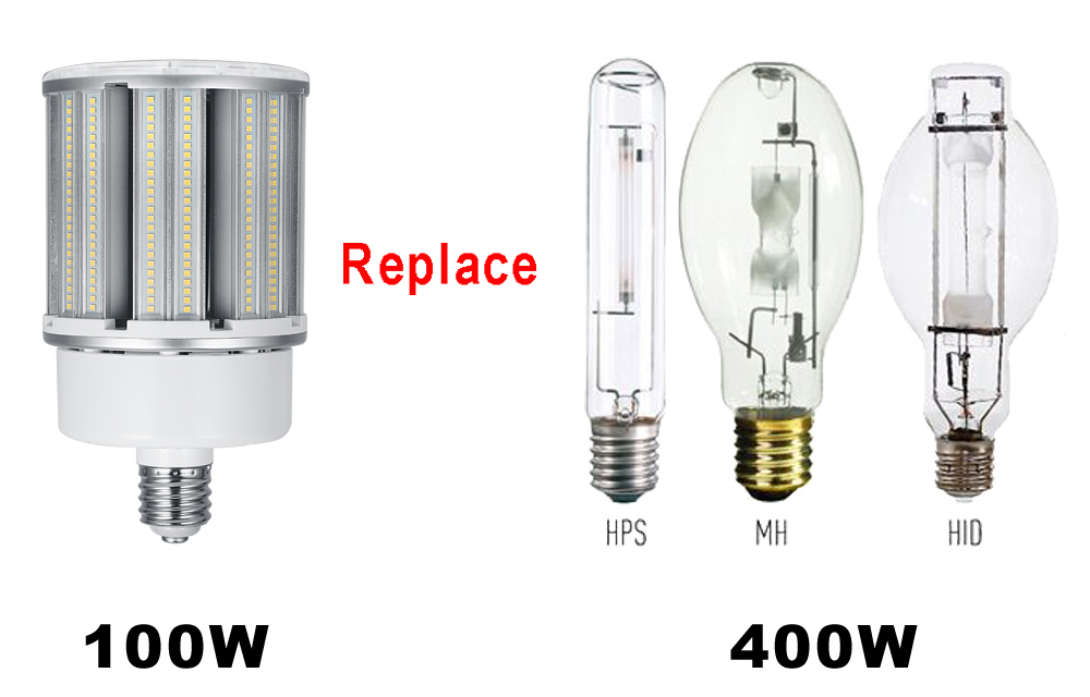 Dual aluminum NETCCA Brand led lamps for sale