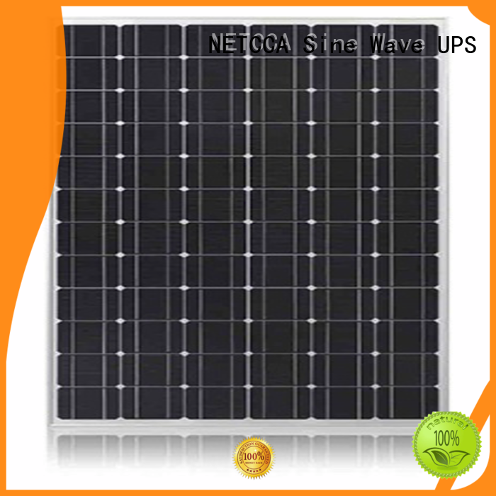 Anti-reflective residential Electric OEM cheap solar panels NETCCA