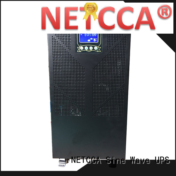 NETCCA Latest 24v inverter charger pure sine wave company for bank