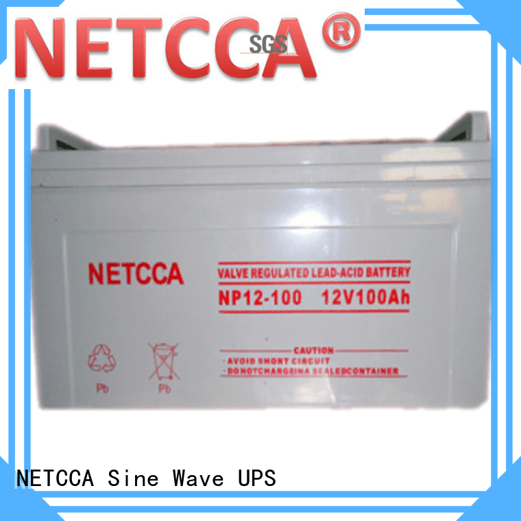 NETCCA Brand netcca efficiency Copper 12v lead acid battery battrey