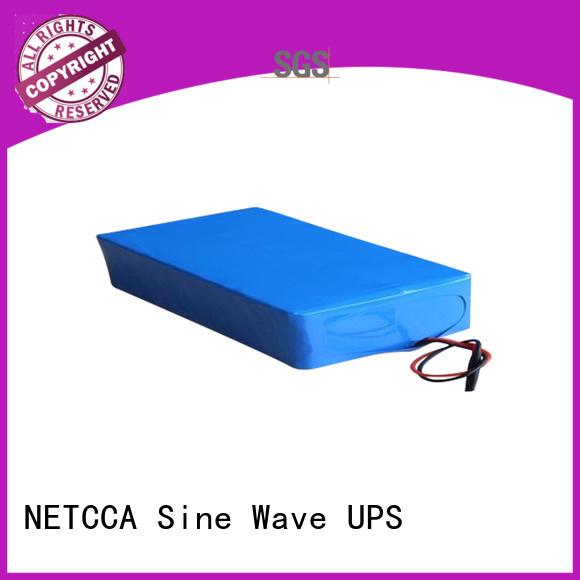 series Charging NETCCA Brand ups lithium battery