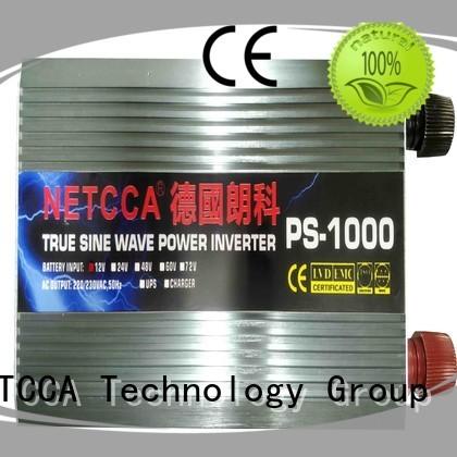 pure solar sine inverter NETCCA Brand high frequency inverter supplier