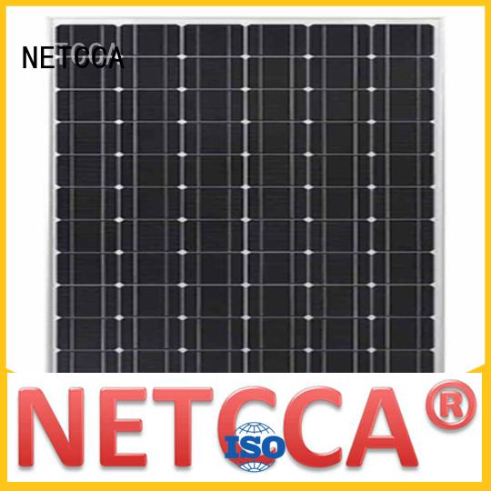 Hot cheap solar panels self-cleaning NETCCA Brand