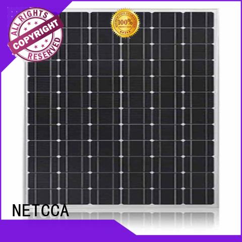 Hot Monocrystalline cheap solar panels residential Electric NETCCA Brand