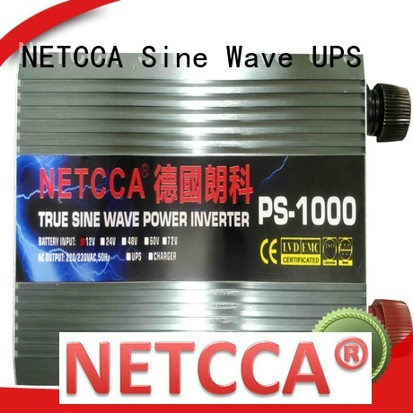 NETCCA solar pure sine wave inverter reviews factory for solar power