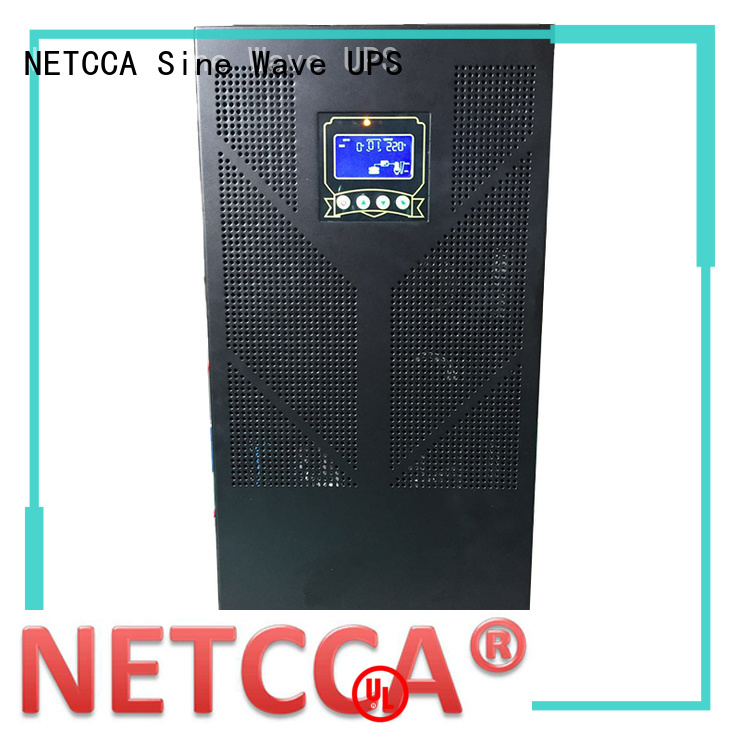 low frequency power inverter technology for public security NETCCA