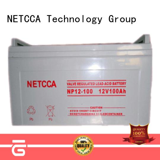 NETCCA Best 12 volt lithium battery factory for telecommunication system