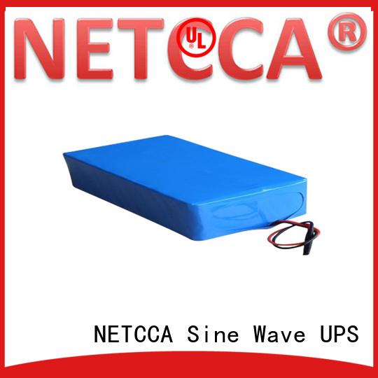 efficiency storage ups lithium battery Pure NETCCA Brand company