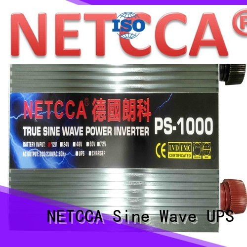 NETCCA Custom pure sine wave inverter circuit design Supply for solar power