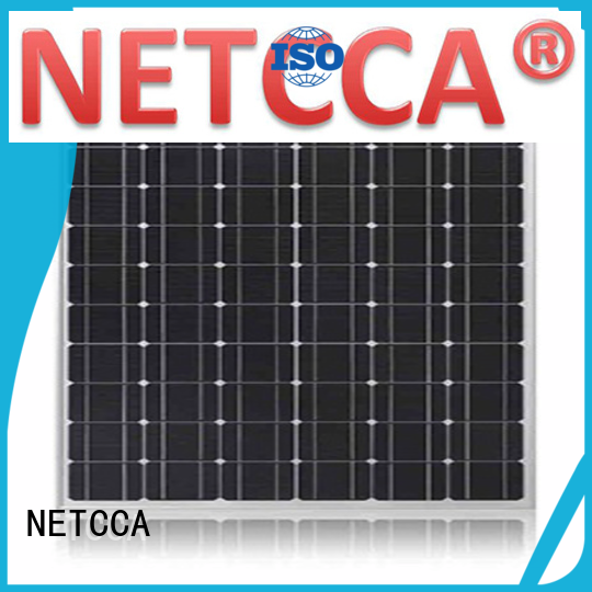 NETCCA Brand Silicon self-cleaning System cheap solar panels manufacture