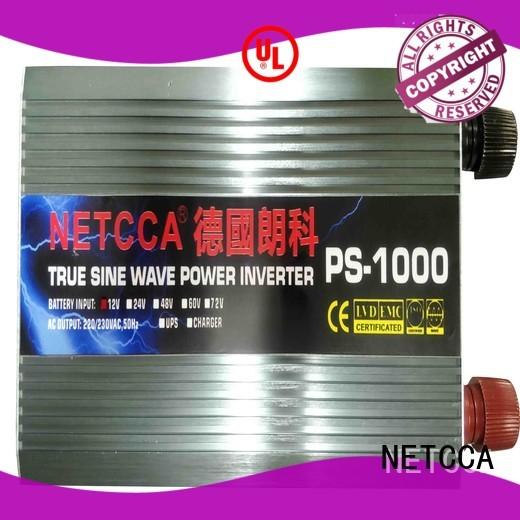 high efficiency pure sine wave inverter system NETCCA Brand high frequency inverter