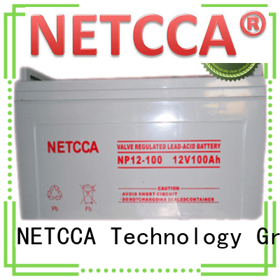 NETCCA New sealed gel batteries company for UPS