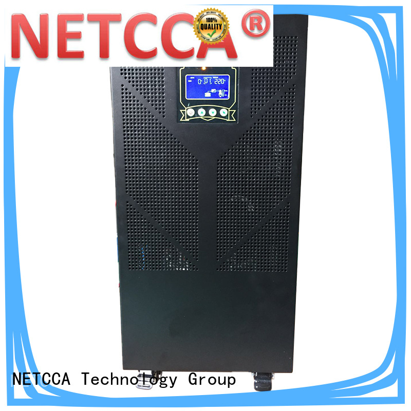 NETCCA High-quality pure sine wave inverter 400w factory for traffic