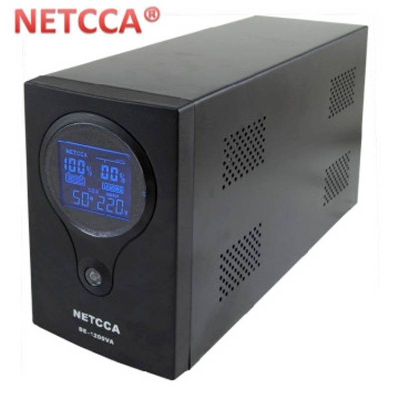 Pure sinewave inverter single phase UPS BE1.2KVA NETCCA backup 700W