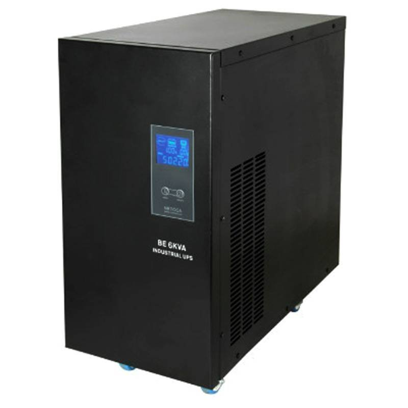 Pure sinewave longtime backup single phrase industrial UPS Netcca 6KVA