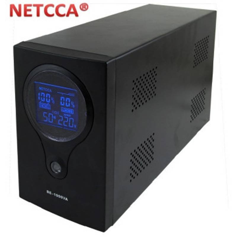 Pure sinewave inverter home UPS uninterruptible power system Netcca 1000VA
