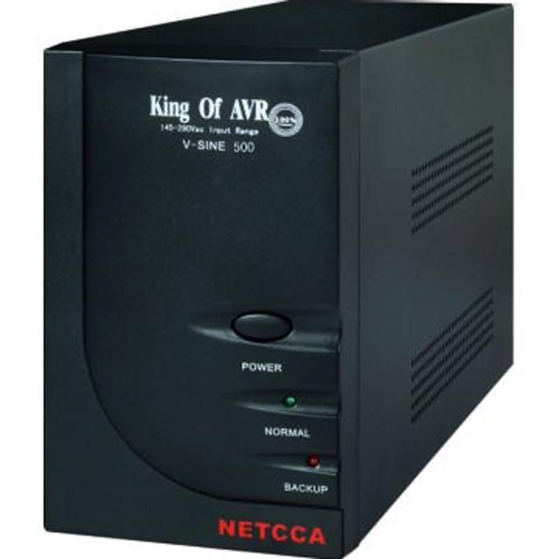 Smart online UPS line-interactive UPS NETCCA VSINE500VA12V300W LED