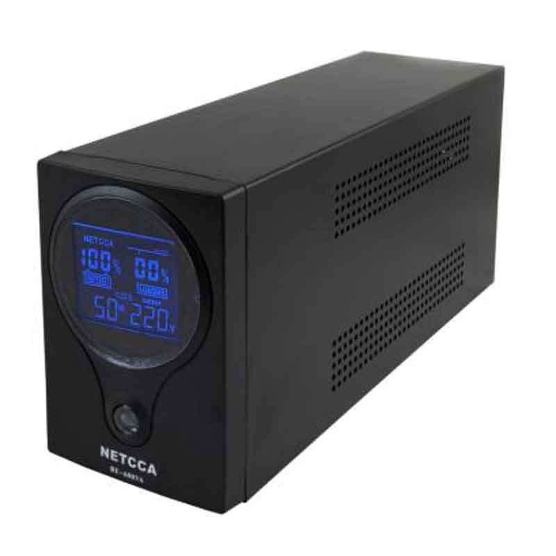 Pure sinewave UPS with RS232 or USB NETCCA BE600VA12V300W