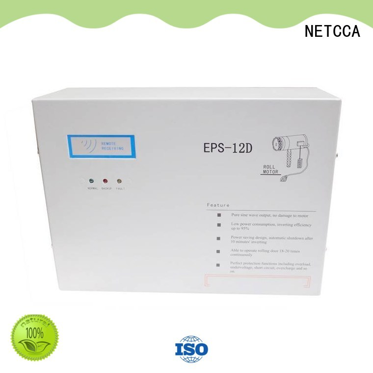 NETCCA motor roller door battery backup wholesale for Military
