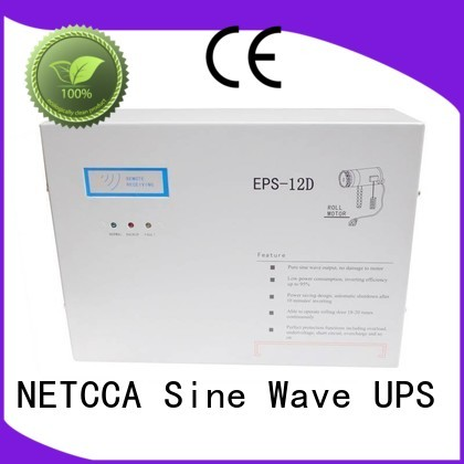 doorgate system ups roller door battery backup wallmounted NETCCA