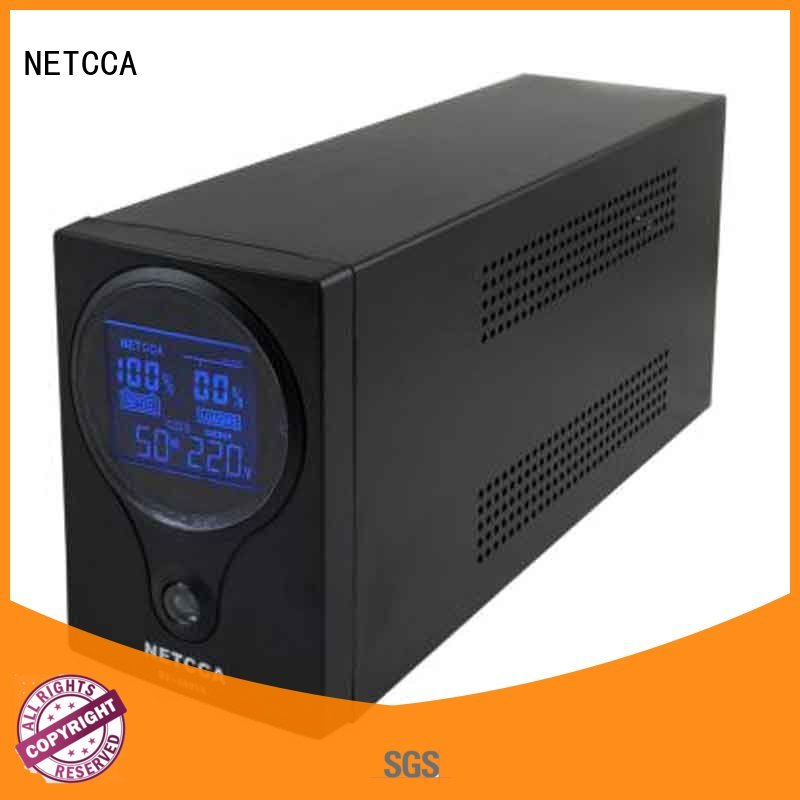 lift bank compatible NETCCA Brand ups pure sine wave output manufacture