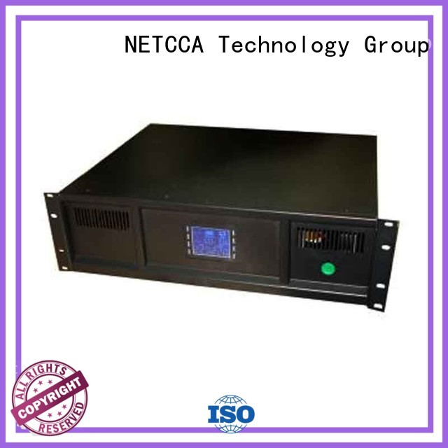 NETCCA battery smart ups rack for business for Networking