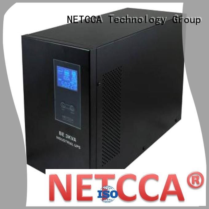 offline ups system extended single sine wave offline ups backup NETCCA Brand