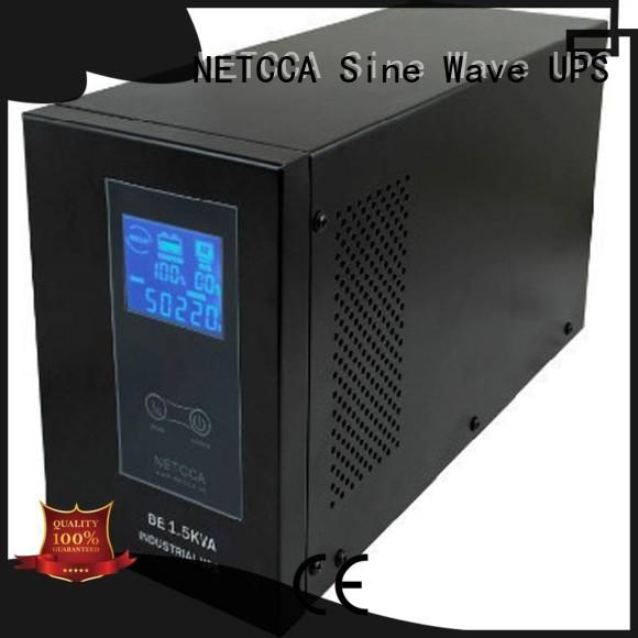 offline ups system netcca sinewave time NETCCA Brand company